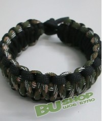 Браслет кобра Black&OGC (двойной)