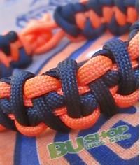 Браслет «Зипер» Black&Orange